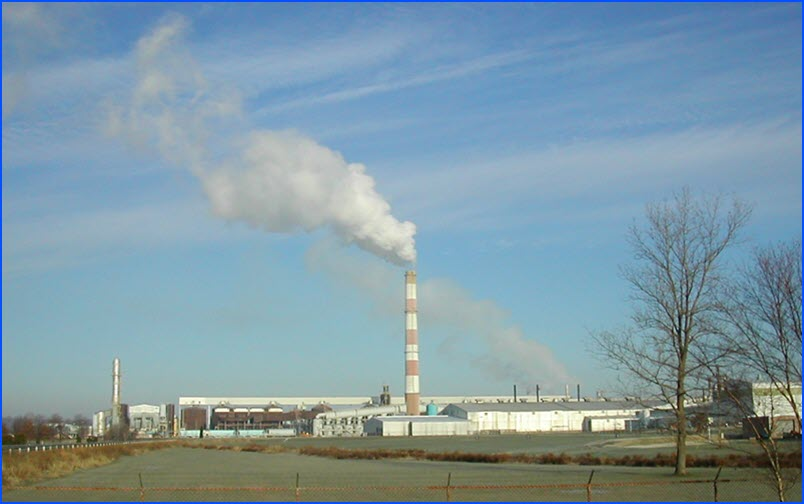 Smokestack illustrating Air Quality Testing, Monitoring, Kenvirons, Civil & Environmental Engineers Frankfort Kentucky
